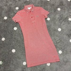 Lacoste Cotton Polo Dress